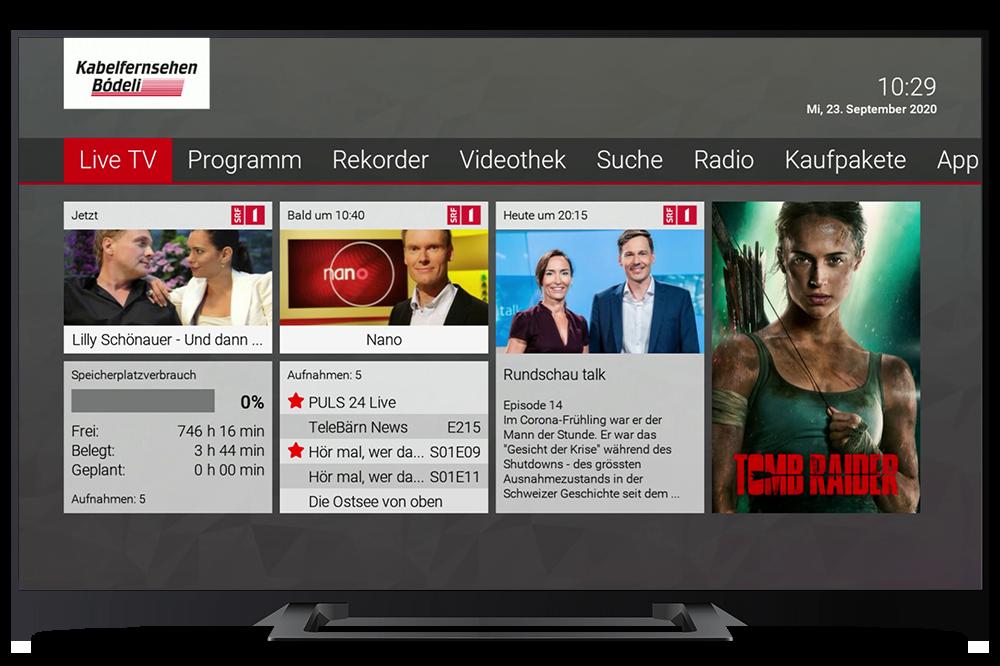 Referenz TV Kabelfernsehen Bödeli