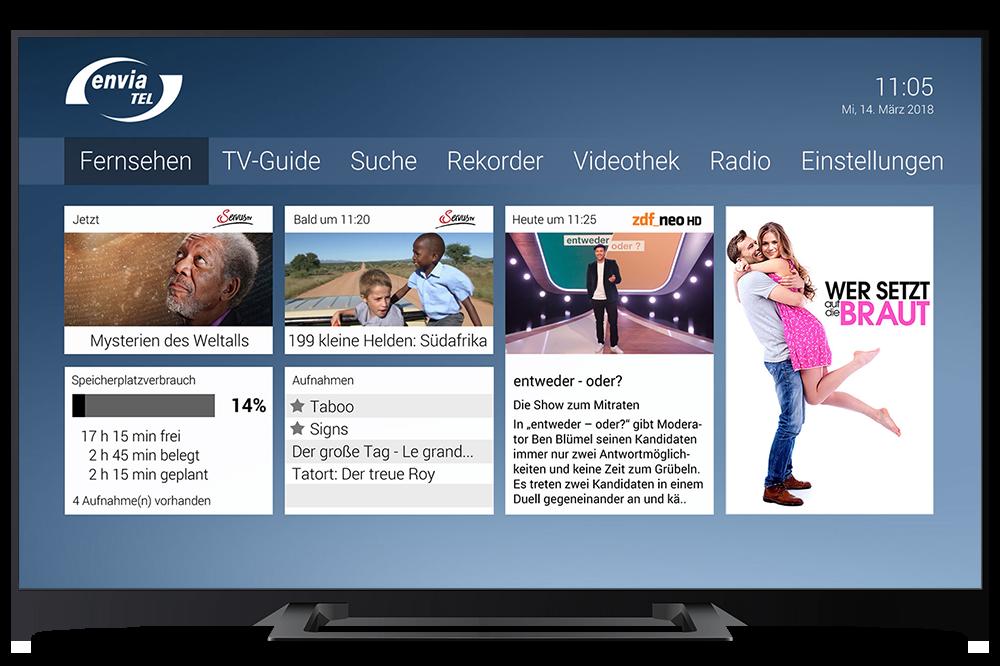 Referenz TV envia TEL