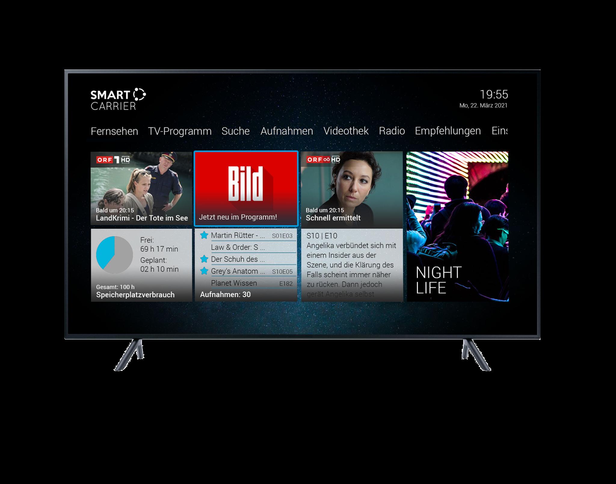 Bild TV UI
