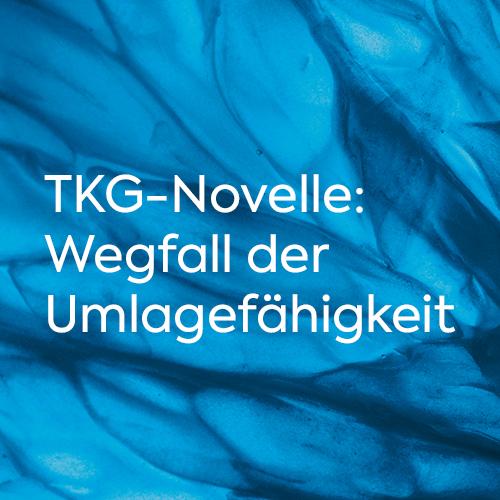 Studie TKG Novelle