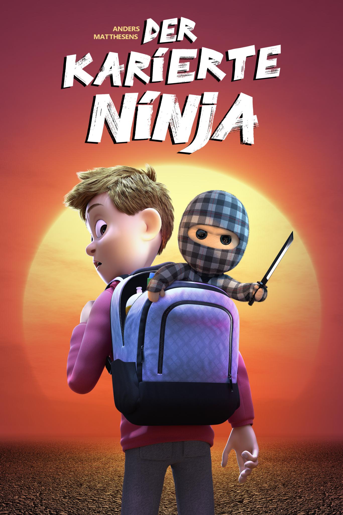 Der karierte Ninja sunset Vod 2zu3 2000x3000